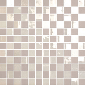 The Wall Mosaico Highlights Grigio Argento 2,2x2,2