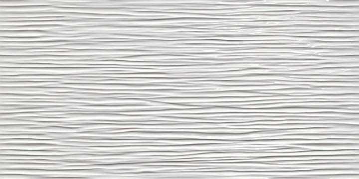 3D Wall Design 3D/Wave White Glossy