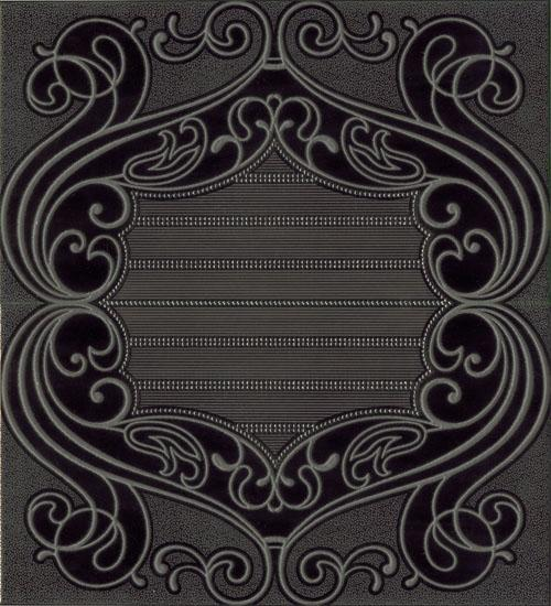 Belle Epoque Comp.LIBERTY NERO 50*45 (2 pcs of 25*45) 258B9A