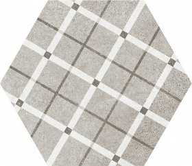 Hexatile Cement Cement GEO Grey (17 видов паттерна)